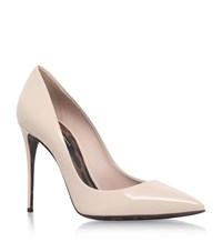 Dolce And Gabbana Marianna Patent Pumps 105 Female Nude