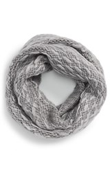 Women's Vince Camuto 'Thick Thin' Knit Infinity Scarf Grey