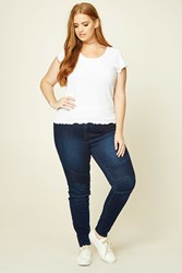 Forever 21 Plus Size Mid Rise Skinny Jeans
