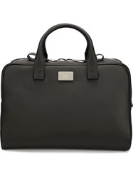 Valas Two Way Zip Holdall Bag Black