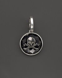 Ippolita Sterling Silver Intaglio Skull Charm In Black Onyx Bloomingdale's Exclusive Silver Black