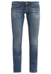 Mavi Jeans Mavi Lindy Slim Fit Jeans Blue Denim