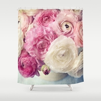 Shades Of Pink Shower Curtain By Sylvia Cook Photography Society6