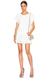 Jay Ahr Flare Dress In White