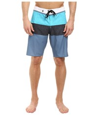 Quiksilver Everyday Blocked Vee 20 Boardshorts Captains Blue Men's Swimwear