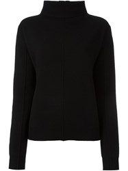Joseph Cowl Neck Jumper Black