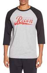 Men's Athletic Recon 'Voltage Resist' Performance Raglan Baseball T Shirt