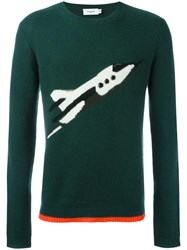 Coach Crew Neck Jumper Green