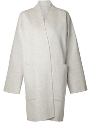 Sofie D'hoore 'Columba' Coat Grey