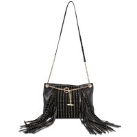 Jimmy Choo Alexia Studs And Fringes Bag