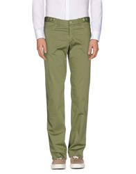 Reporter Trousers Casual Trousers Men Military Green