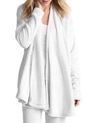 Ugg Open Front Sweater White