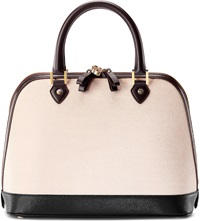 Aspinal Of London Brook Street Leather Tote Bag Monochrome