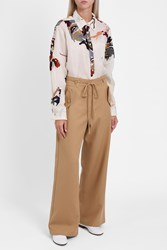 Sies Marjan Embroidered Tux Shirt White