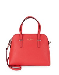 Kate Spade Maise Leather Dome Bag Apple Jelly