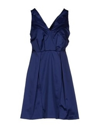 Annarita N. Short Dresses Blue