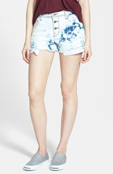 Lee Cooper Distressed Denim Shorts Cotton Candy