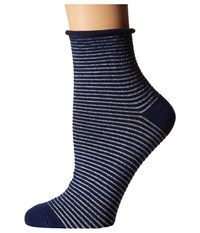 Richer Poorer Hari Ankle Navy Women's Crew Cut Socks Shoes