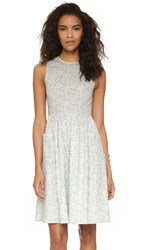 Chinti And Parker Tea Dress Meadow