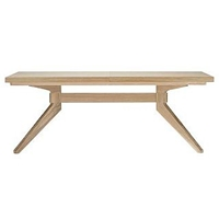Cross Extension Table New Oak Design Within Reach