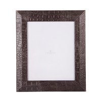 Alexander James Grey Croc Wrap Photo Frame 8X10
