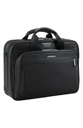 Men's Briggs And Riley 'Medium' Ballistic Nylon Briefcase
