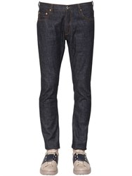 Valentino 18Cm Slim Fit Cotton Denim Jeans