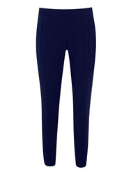 Hotsquash Clever Pleated Jersey Slouch Pants Navy