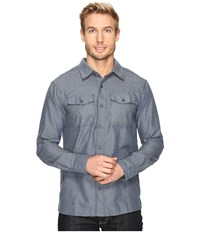 Outdoor Research Gastown Long Sleeve Shirt Vintage Men's Clothing Brown