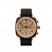 Briston Classic Chronograph Date Rose Gold Dial