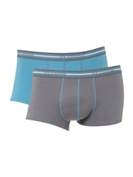 Sloggi 2 Pack Match Hipster Trunk Navy