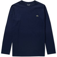 Lacoste Long Sleeve Classic Tee Blue