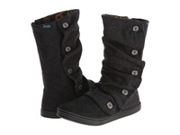 Blowfish Rammish Black Soft Herringbone Flannel Women's Boots