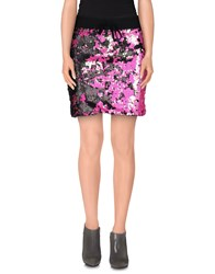 Odi Et Amo Skirts Mini Skirts Women Fuchsia