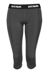 I' Low Rise Capri Leggings By Ivy Park Grey