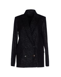 American Retro Suits And Jackets Blazers Women Black
