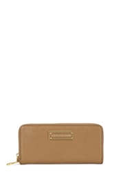 Marc By Marc Jacobs Too Hot To Handle Walnut Leather Wallet