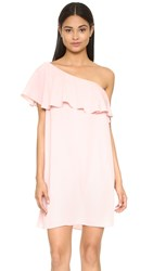 Amanda Uprichard Zoe Dress Dusty Rose
