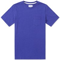 Norse Projects Niels Flame Overdye Tee Blue