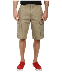 L R G Rc Classic Cargo Shorts British Khaki Men's Shorts Brown
