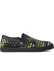 Master Of Arts Green Camouflage Loafer