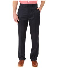 Perry Ellis Solid Performance Portfolio Pant Dark Navy Men's Dress Pants