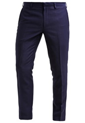 Burton Menswear London Suit Trousers Blue