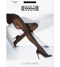 Wolford Cotton Velvet Tights Admiral