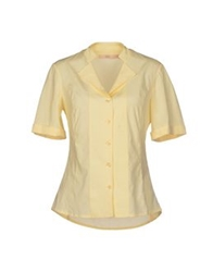 Bgn Shirts Light Yellow