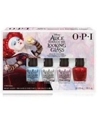 Opi Alice Through The Looking Glass Mini Royal Court Of Color Nail Lacquer Pack
