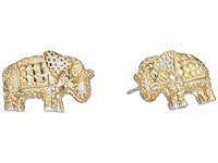 Anna Beck Elephant Stud Earrings Sterling Silver 2 Earring Khaki