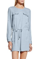 Women's Vince Camuto Roll Sleeve Romper
