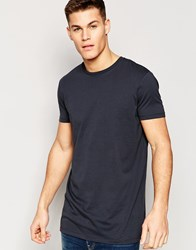 Asos Super Longline T Shirt Relaxed Skater Fit In Washed Black Washed Black Grey