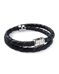 Miansai Men's Woven Leather Bracelet